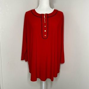 NWT Plus Size Red Top